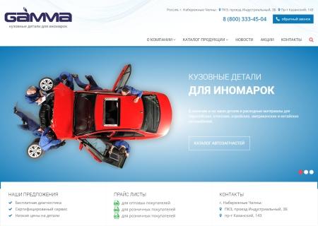 ООО Гамма - кузовные детали для иномарок